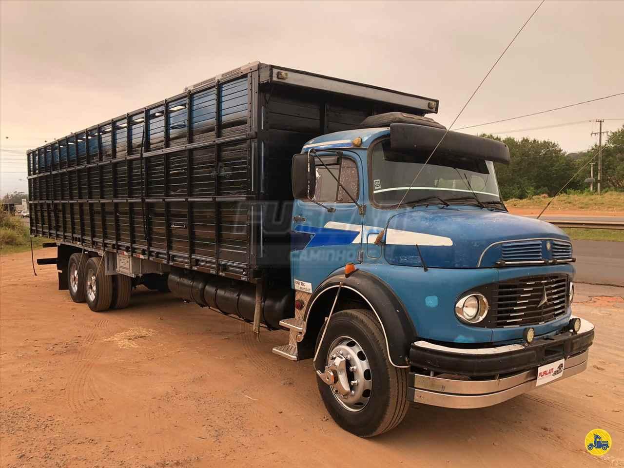 CAMINHAO MERCEDES-BENZ MB 1113 Boiadeiro Truck 6x2 Furlan Caminhões UMUARAMA PARANÁ PR