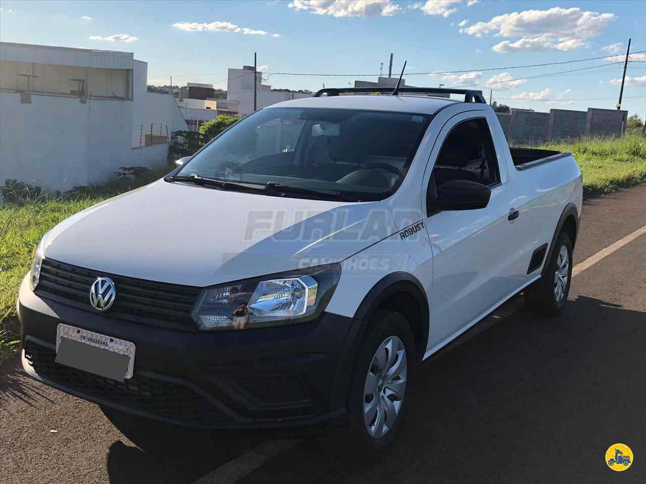 CARRO VW - Volkswagen Saveiro 1.6 Robust Furlan Caminhões UMUARAMA PARANÁ PR