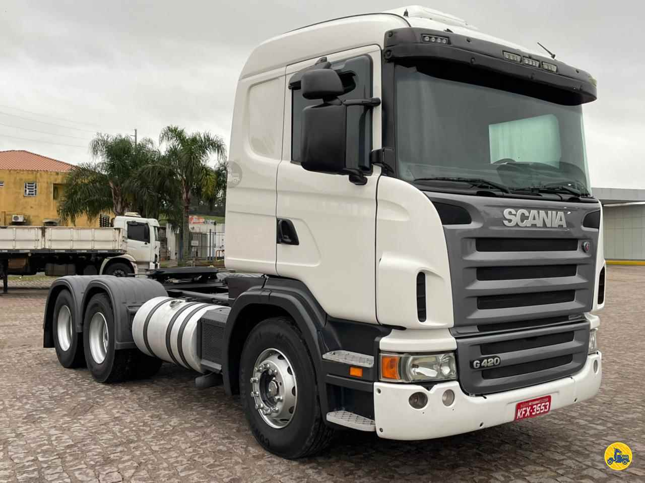 CAMINHAO SCANIA SCANIA 420 Cavalo Mecânico Truck 6x2 Freccia Caminhões JAGUARUNA SANTA CATARINA SC
