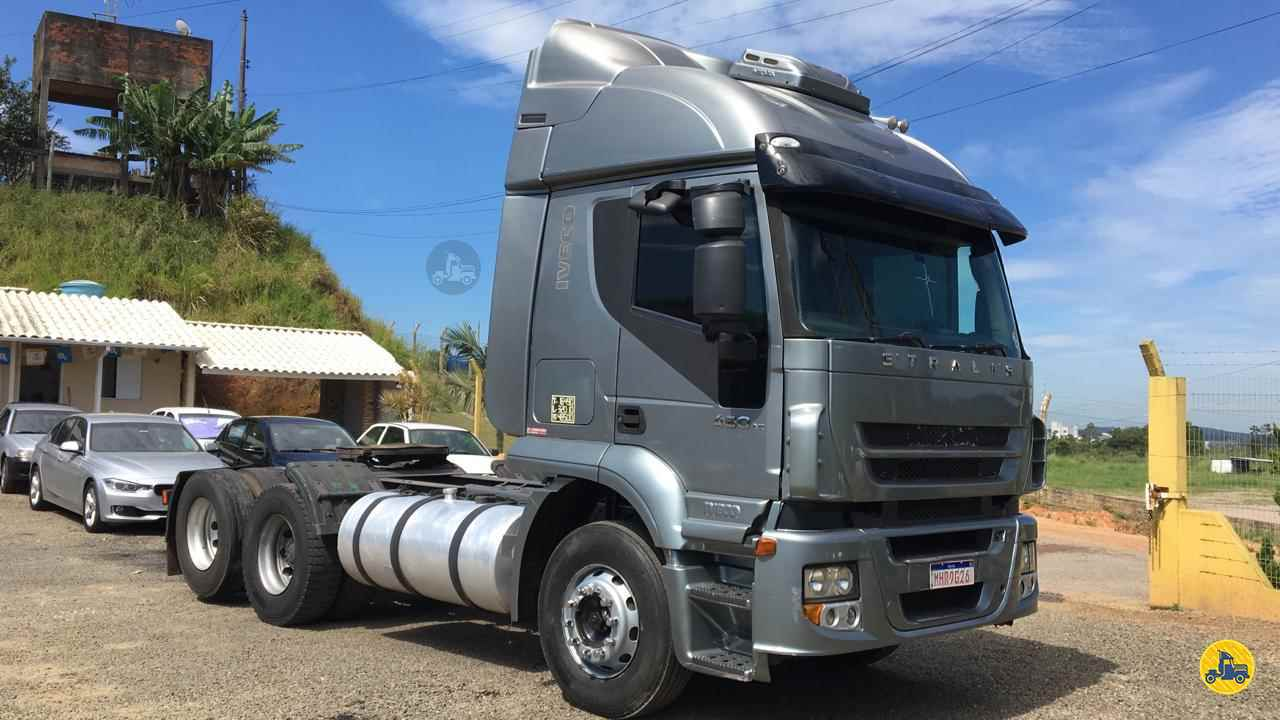 CAMINHAO IVECO STRALIS 460 Chassis Truck 6x2 Freccia Caminhões JAGUARUNA SANTA CATARINA SC