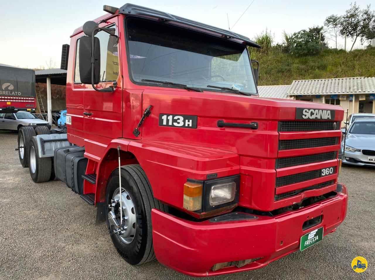 CAMINHAO SCANIA SCANIA 113 360 Cavalo Mecânico Truck 6x2 Freccia Caminhões JAGUARUNA SANTA CATARINA SC