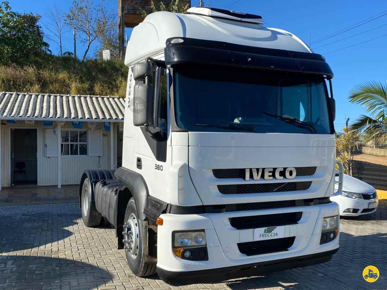 CAMINHAO IVECO STRALIS 380 Chassis Toco 4x2 Freccia Caminhões JAGUARUNA SANTA CATARINA SC