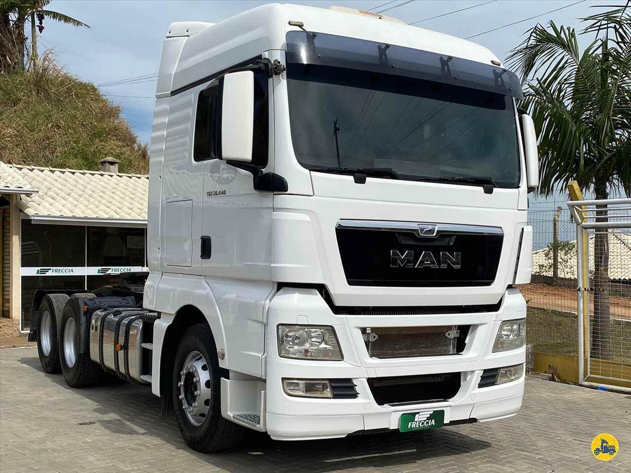 CAMINHAO MAN TGX 28 440 Cavalo Mecânico Truck 6x2 Freccia Caminhões JAGUARUNA SANTA CATARINA SC