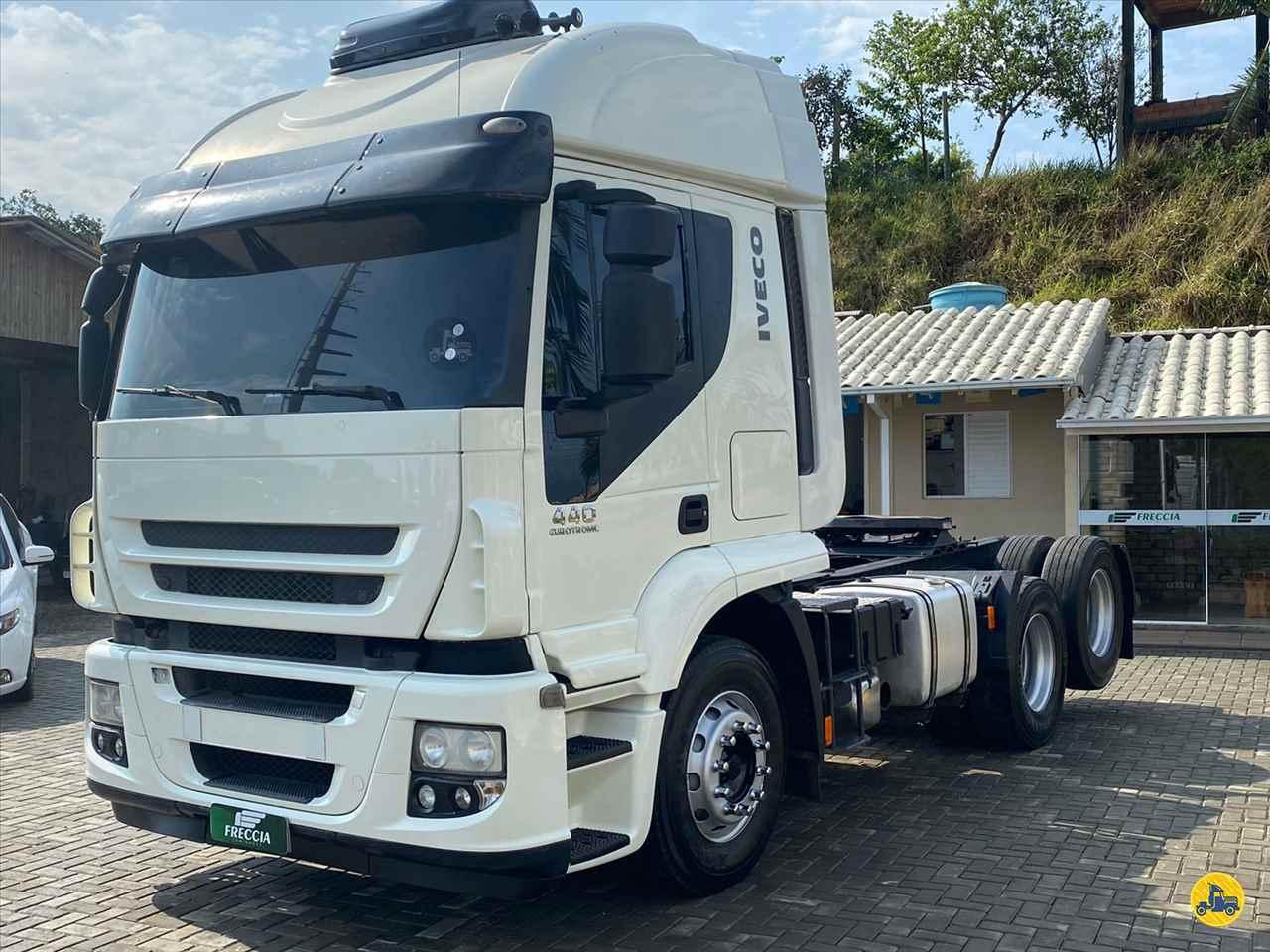 CAMINHAO IVECO STRALIS 440 Cavalo Mecânico Truck 6x2 Freccia Caminhões JAGUARUNA SANTA CATARINA SC