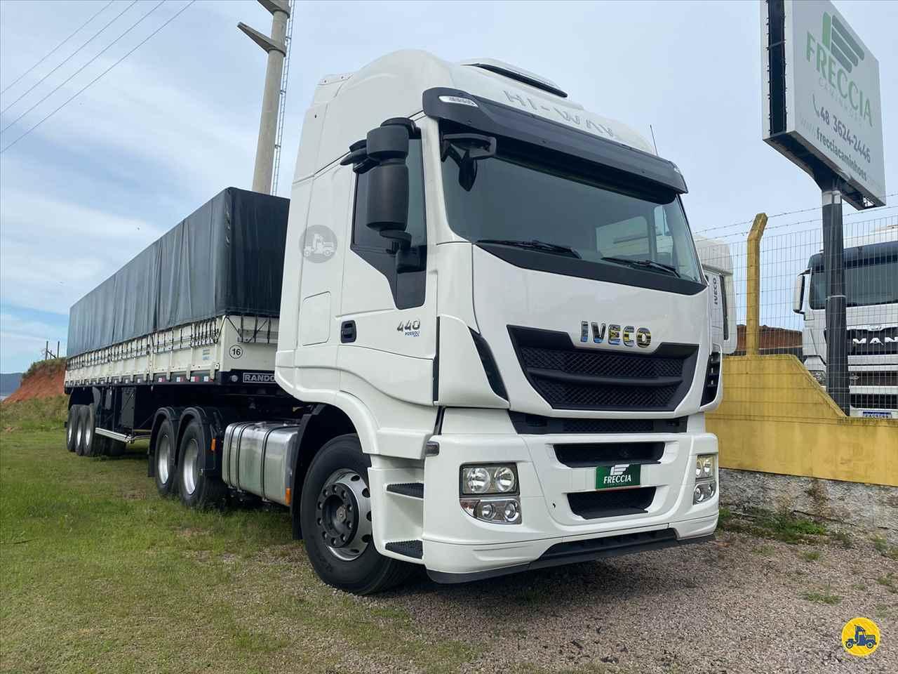 CAMINHAO IVECO STRALIS 440 Graneleiro Truck 6x2 Freccia Caminhões JAGUARUNA SANTA CATARINA SC