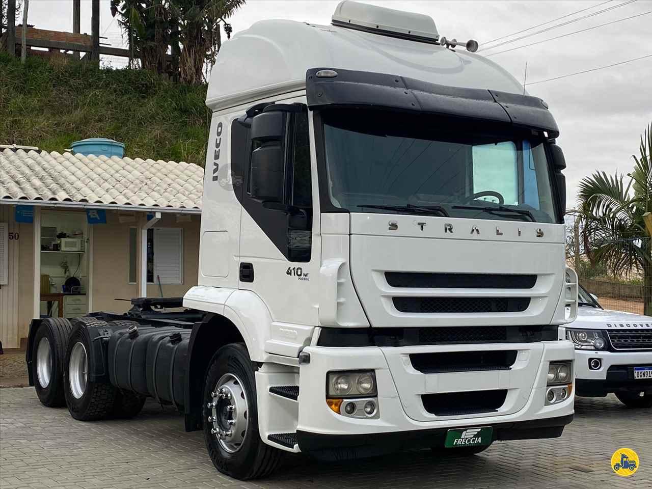 CAMINHAO IVECO STRALIS 410 Cavalo Mecânico Truck 6x2 Freccia Caminhões JAGUARUNA SANTA CATARINA SC