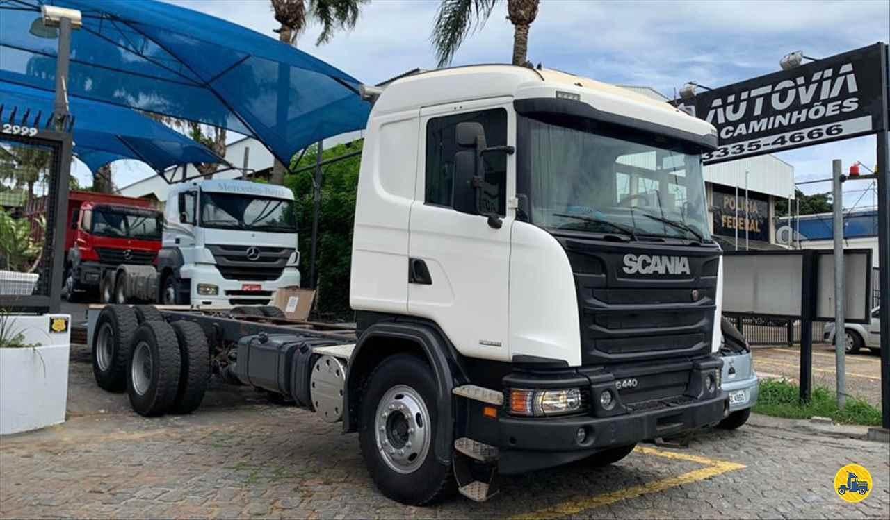 CAMINHAO SCANIA SCANIA 440 Chassis Traçado 6x4 AutoVia Caminhões ARARAQUARA SÃO PAULO SP