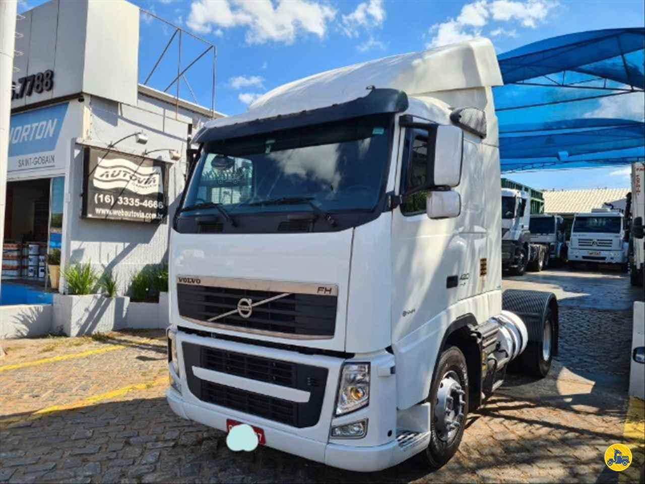 CAMINHAO VOLVO VOLVO FH 420 Cavalo Mecânico Toco 4x2 AutoVia Caminhões ARARAQUARA SÃO PAULO SP