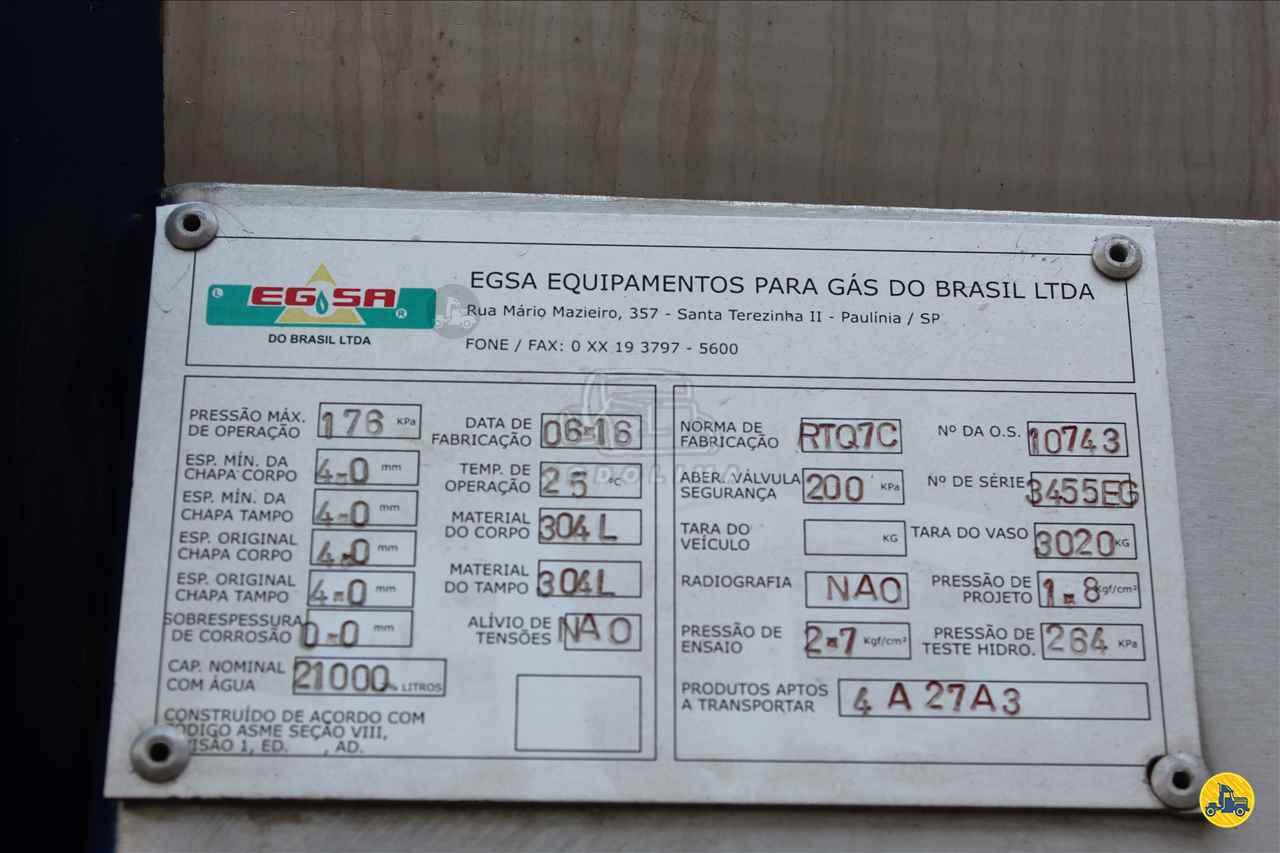 SEMI-REBOQUE TANQUE INOX  2016/2016 Rodolima Caminhões