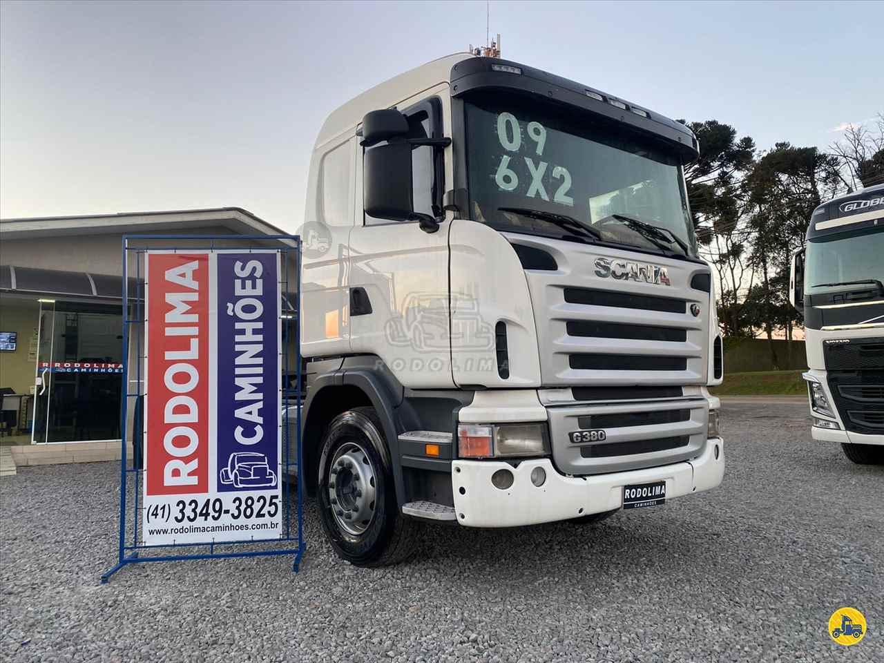CAMINHAO SCANIA SCANIA 380 Cavalo Mecânico Truck 6x2 Rodolima Caminhões CURITIBA PARANÁ PR