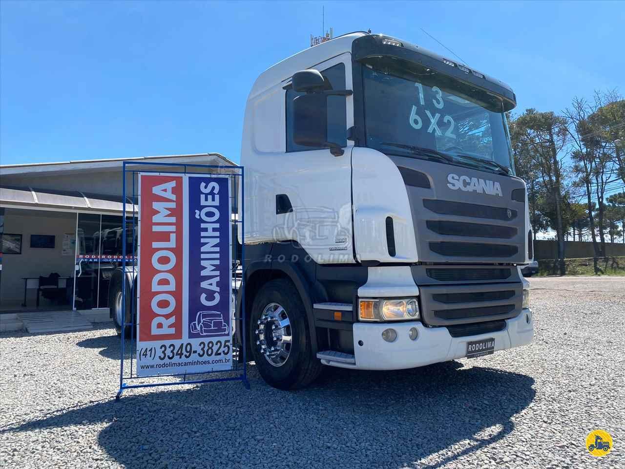 CAMINHAO SCANIA SCANIA 440 Cavalo Mecânico Truck 6x2 Rodolima Caminhões CURITIBA PARANÁ PR