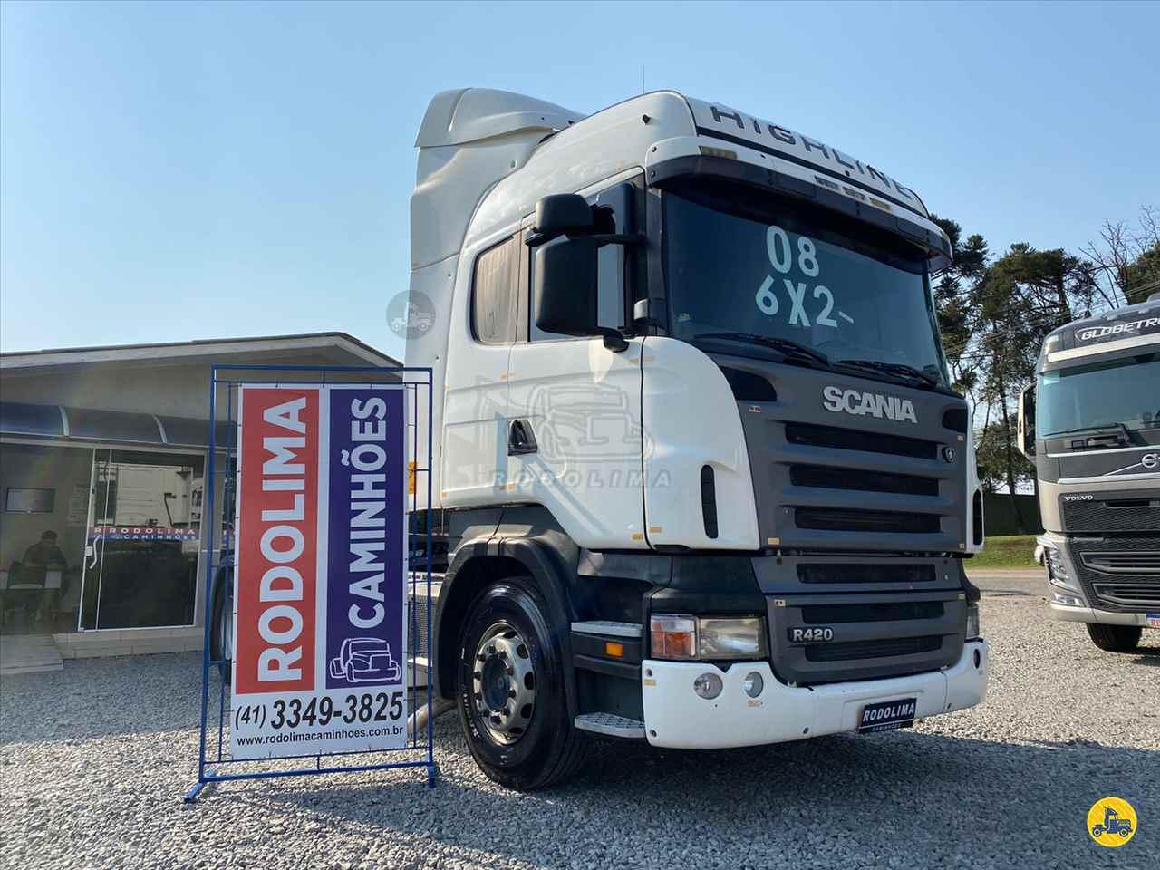 CAMINHAO SCANIA SCANIA 420 Cavalo Mecânico Truck 6x2 Rodolima Caminhões CURITIBA PARANÁ PR