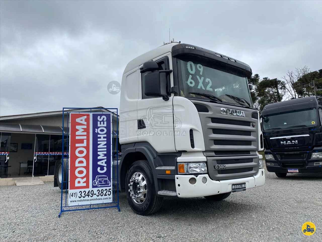 CAMINHAO SCANIA SCANIA 380 Chassis Truck 6x2 Rodolima Caminhões CURITIBA PARANÁ PR