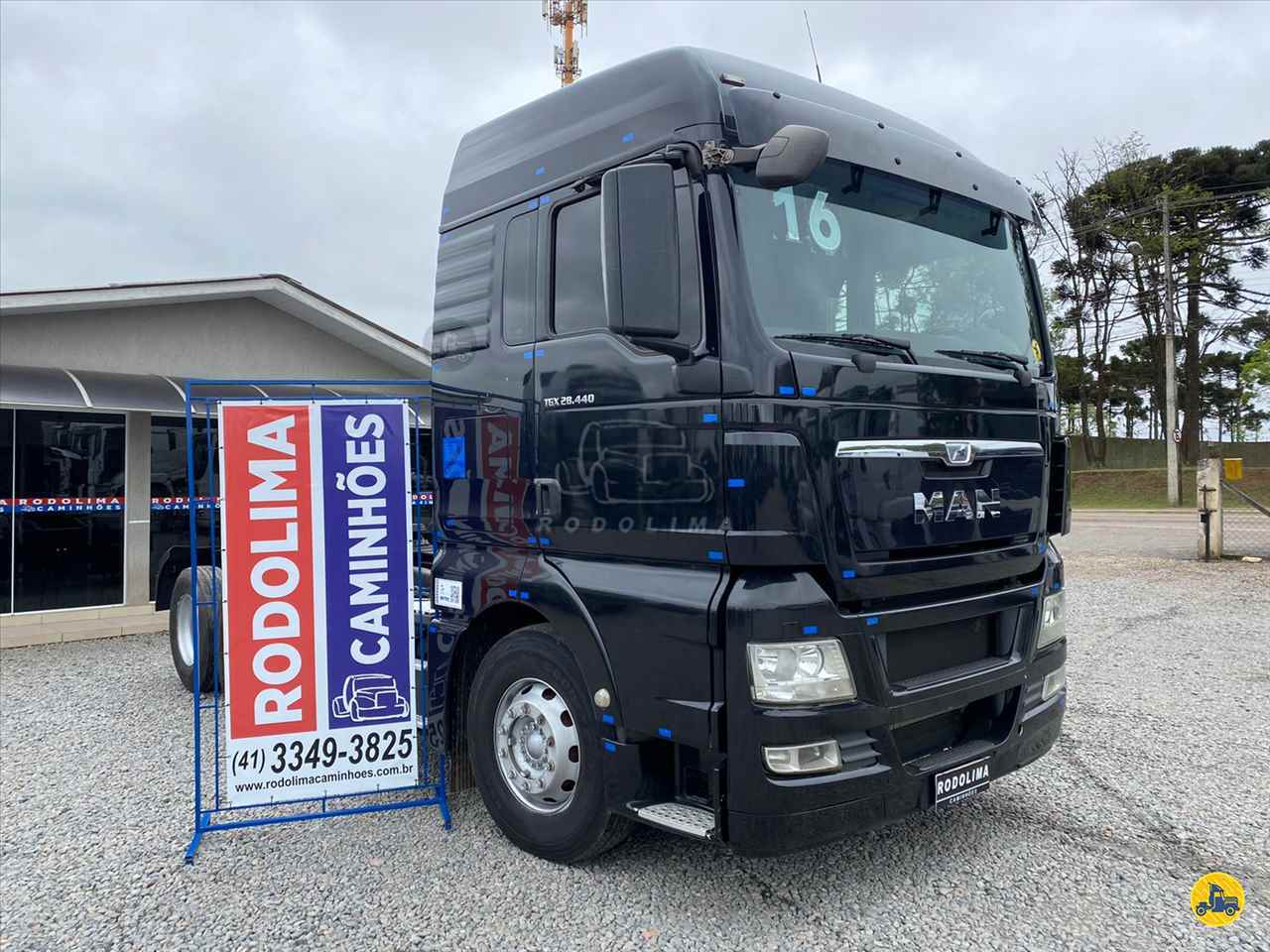 CAMINHAO MAN TGX 28 440 Chassis Truck 6x2 Rodolima Caminhões CURITIBA PARANÁ PR