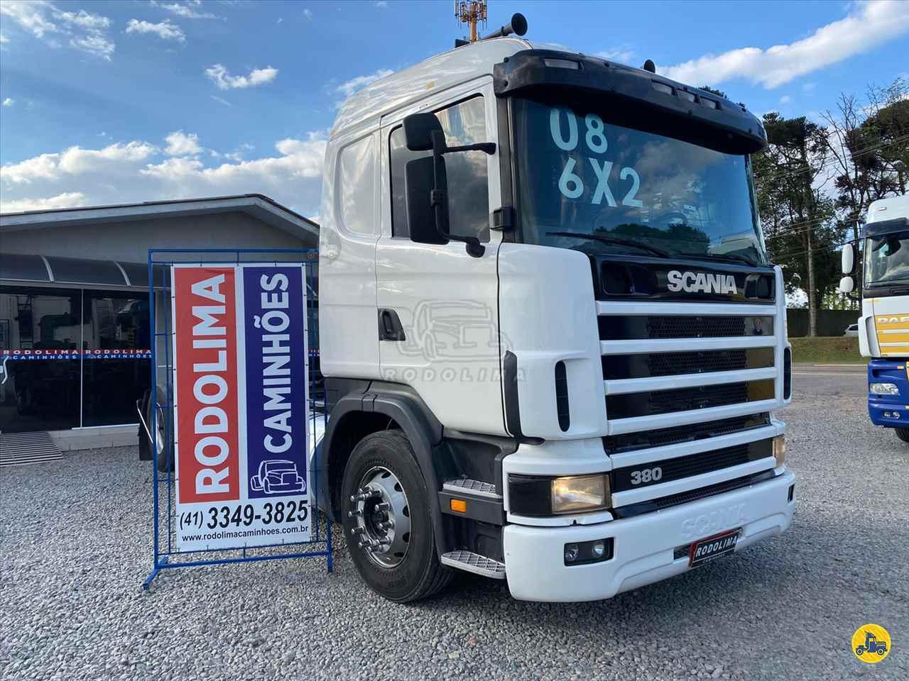 CAMINHAO SCANIA SCANIA 114 380 Chassis Truck 6x2 Rodolima Caminhões CURITIBA PARANÁ PR