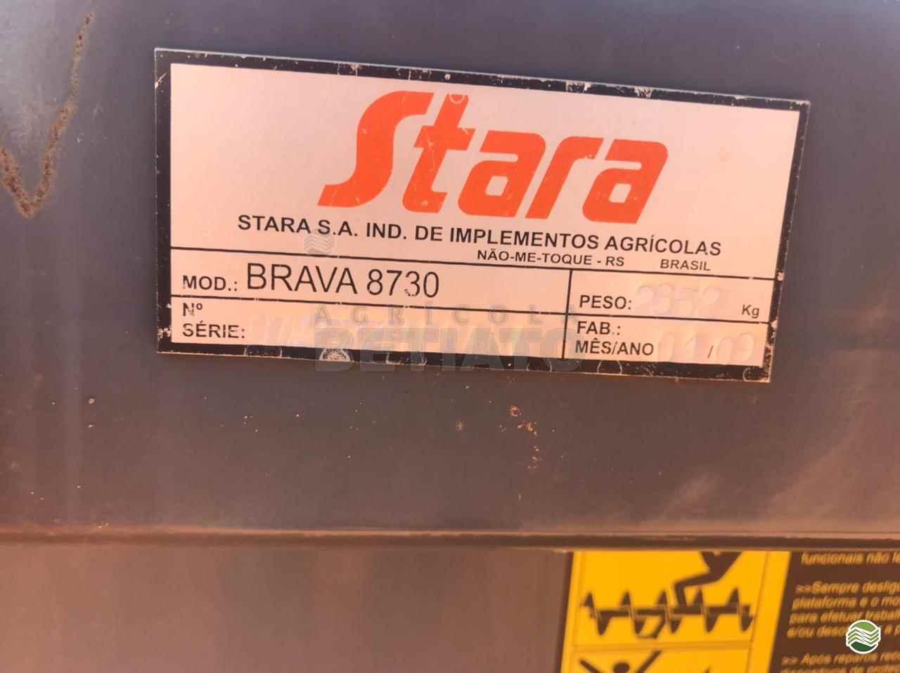 PLATAFORMA COLHEITADEIRA STARA BRAVA 8730 Agrícola Betiato - Stara CAMPO VERDE MATO GROSSO MT