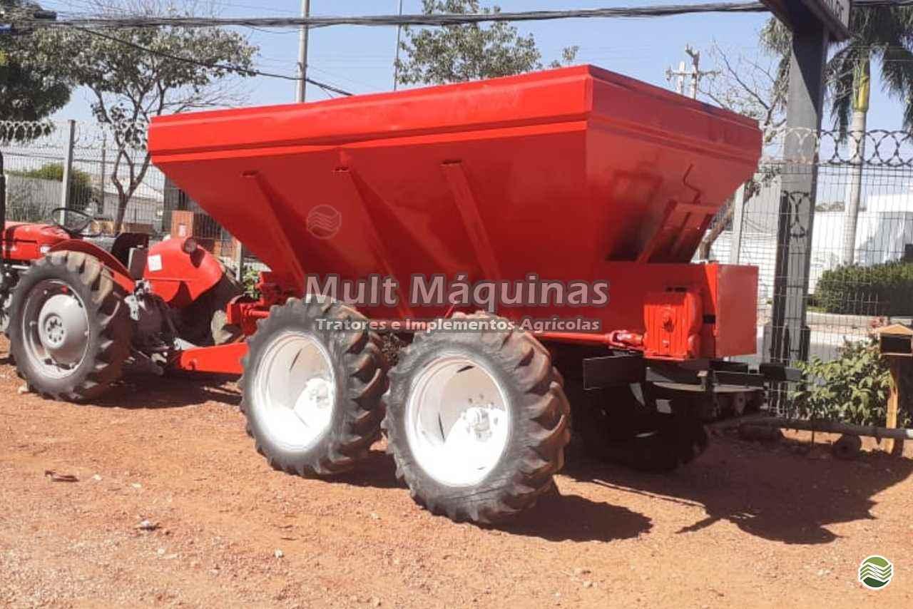 IMPLEMENTOS AGRICOLAS DISTRIBUIDOR CALCÁRIO 10000 Kg Mult Máquinas CUIABA MATO GROSSO MT