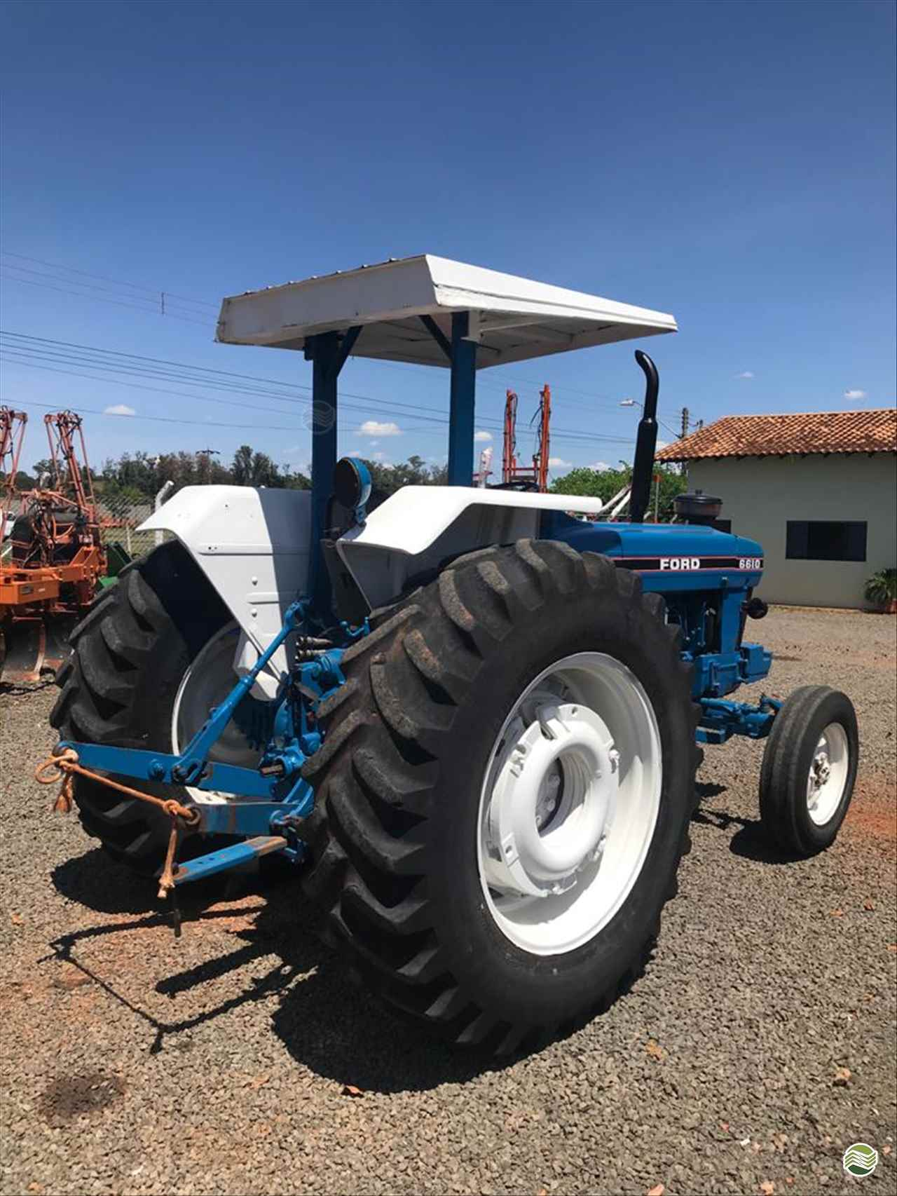 FORD FORD 6610  1985/1985 Trevo Tratores