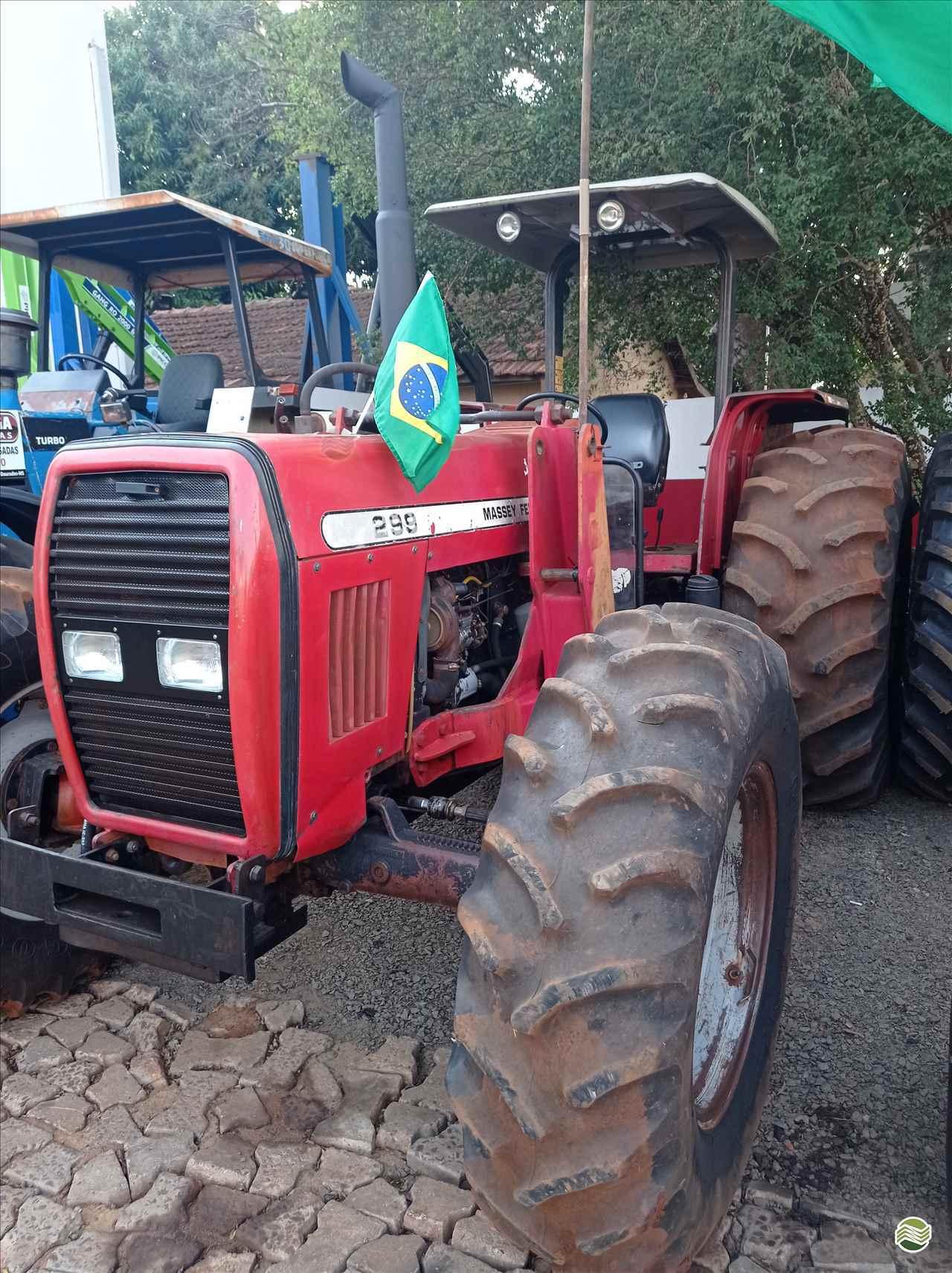 TRATOR MASSEY FERGUSON MF 299 Mezenga Máquinas DOURADOS MATO GROSSO DO SUL MS