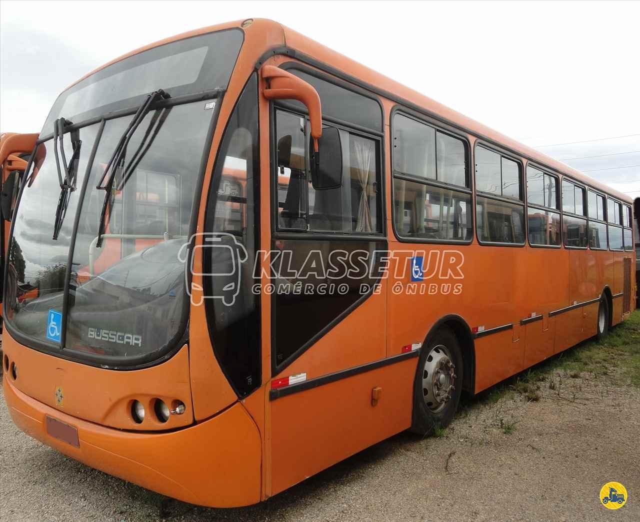 ONIBUS BUSSCAR Urbanuss Pluss Tração 4x2 Klassetur Comércio de Ônibus CURITIBA PARANÁ PR