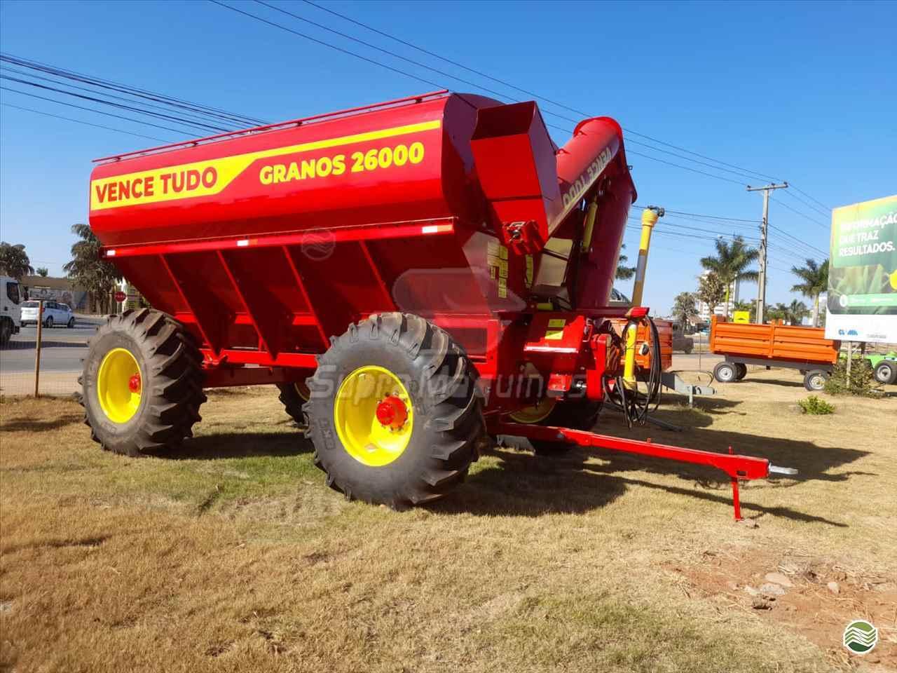 IMPLEMENTOS AGRICOLAS CARRETA BAZUKA GRANELEIRA 26000 Supra Máquinas LUCAS DO RIO VERDE MATO GROSSO MT