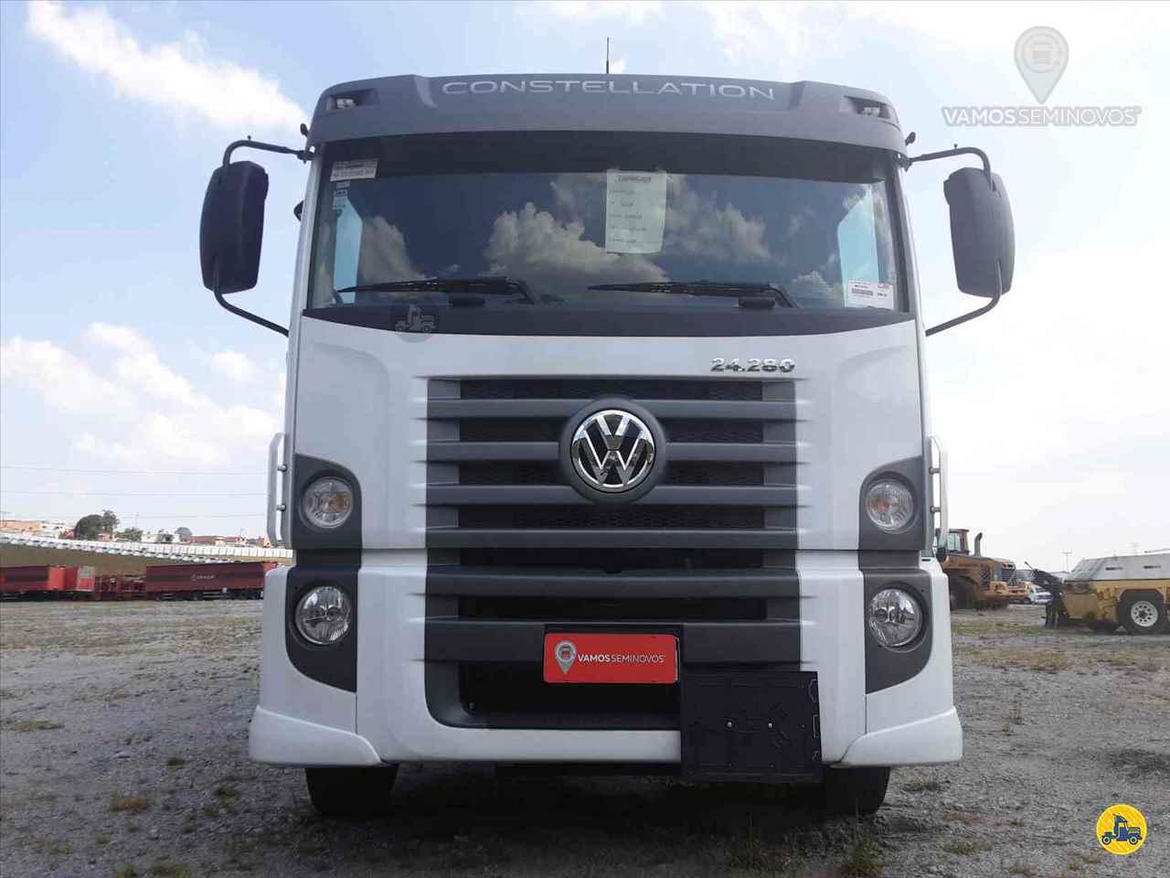 CAMINHAO VOLKSWAGEN VW 24280 Tanque Aço Truck 6x2 Vamos Seminovos - Goiânia GOIANIA GOIAS GO