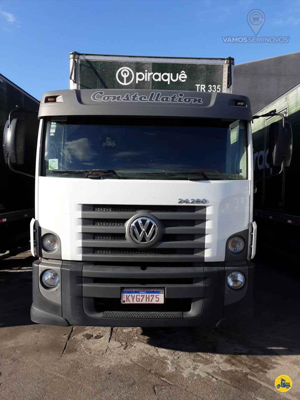 CAMINHAO VOLKSWAGEN VW 24280 Baú Furgão Truck 6x2 Vamos Seminovos - Goiânia GOIANIA GOIAS GO
