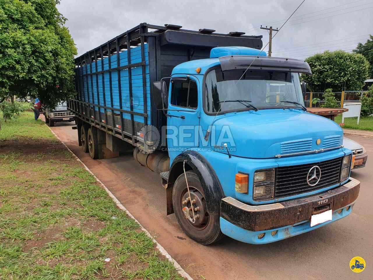CAMINHAO MERCEDES-BENZ MB 1113 Boiadeiro Truck 6x2 Rema Caminhões - MS CAMPO GRANDE MATO GROSSO DO SUL MS