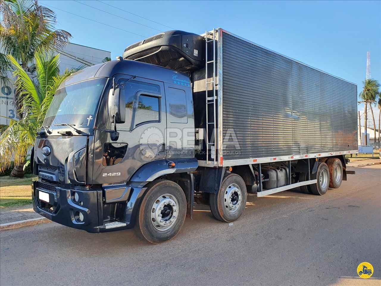 CAMINHAO FORD CARGO 2429 Baú Frigorífico BiTruck 8x2 Rema Caminhões - MS CAMPO GRANDE MATO GROSSO DO SUL MS
