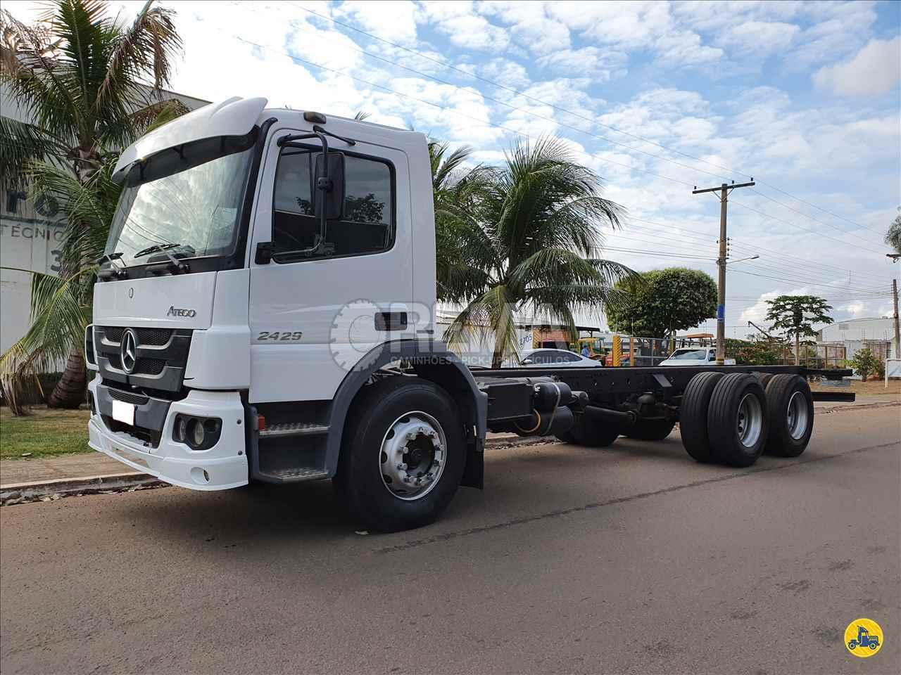 CAMINHAO MERCEDES-BENZ MB 2429 Chassis Truck 6x2 Rema Caminhões - MS CAMPO GRANDE MATO GROSSO DO SUL MS