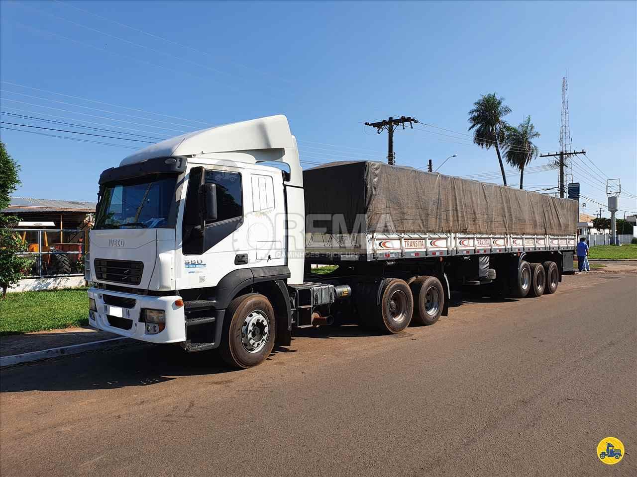 CAMINHAO IVECO STRALIS 380 Cavalo Mecânico Truck 6x2 Rema Caminhões - MS CAMPO GRANDE MATO GROSSO DO SUL MS