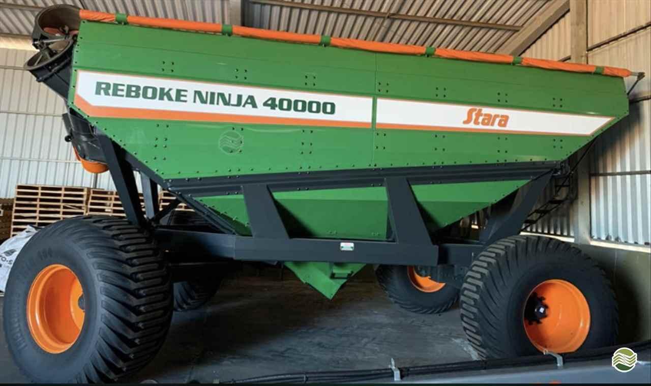 IMPLEMENTOS AGRICOLAS CARRETA BAZUKA GRANELEIRA 40000 GPS Máquinas CAMPO VERDE MATO GROSSO MT
