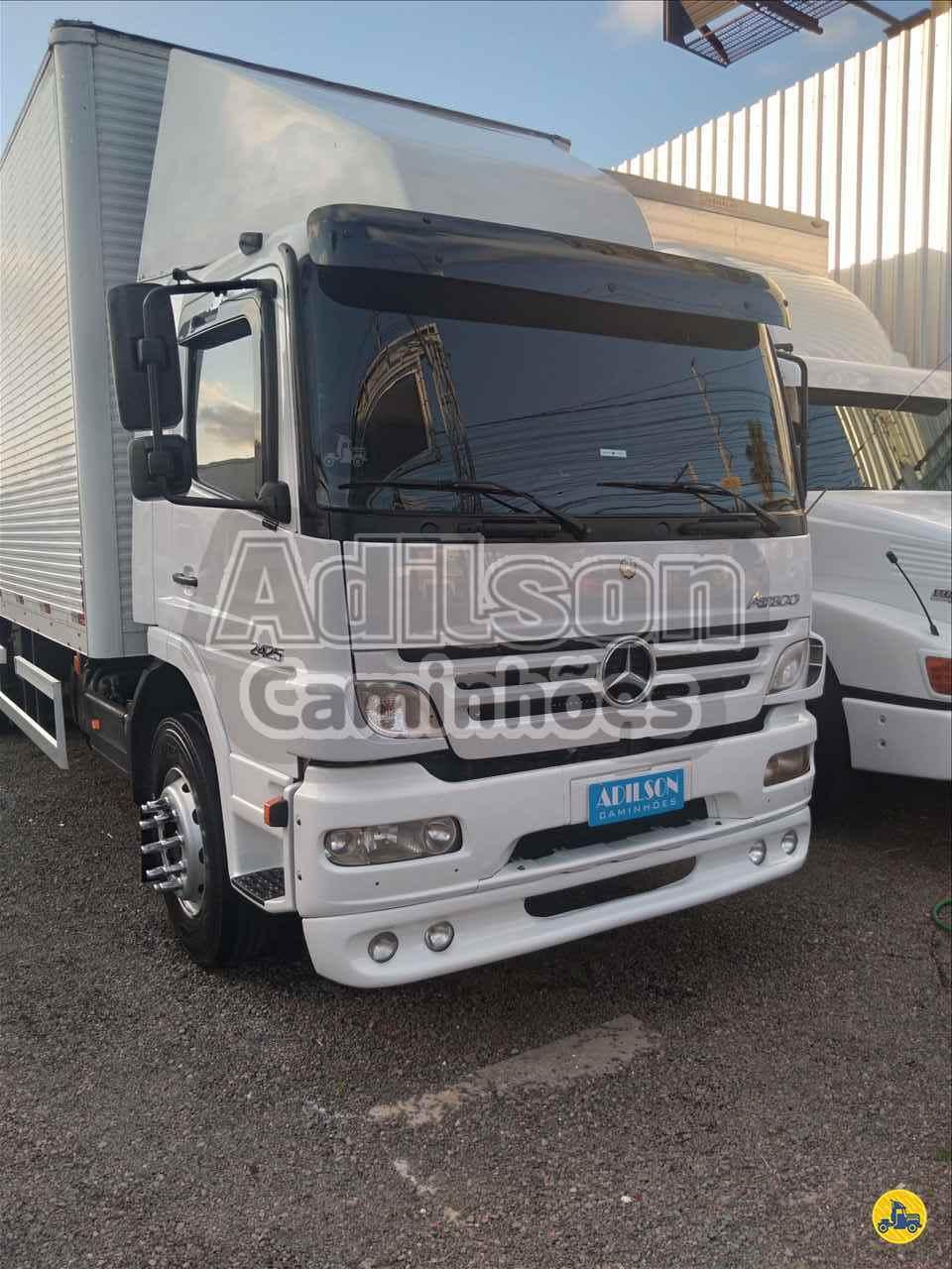 CAMINHAO MERCEDES-BENZ MB 2425 Baú Furgão Truck 6x2 Adilson Caminhões PORTO ALEGRE RIO GRANDE DO SUL RS