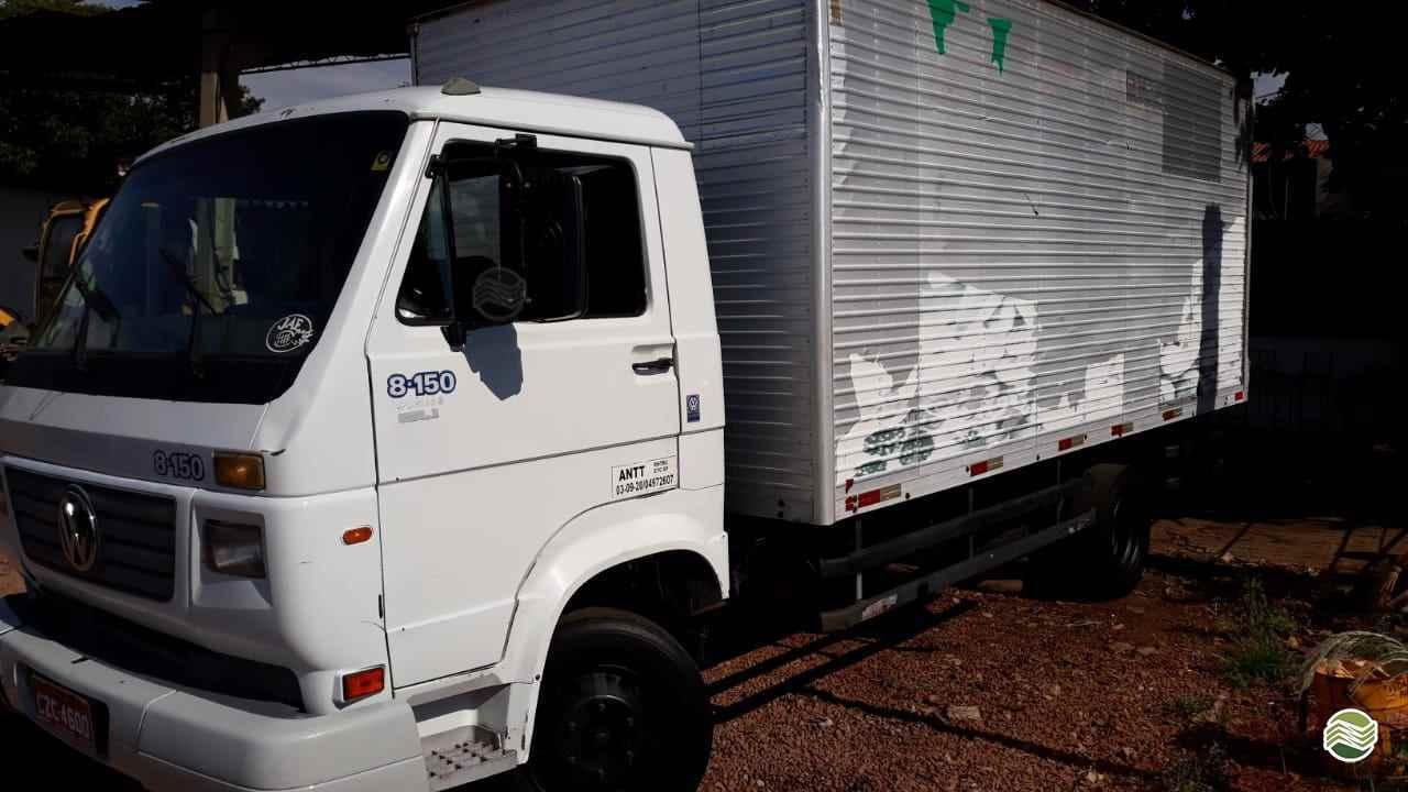 CAMINHAO VOLKSWAGEN VW 8150 Baú Furgão 3/4 4x2 Sumaré Máquinas e Veículos SUMARE SÃO PAULO SP