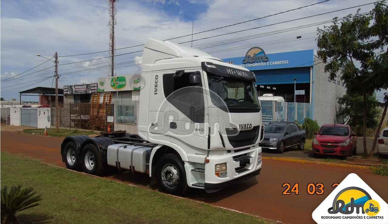 CAMINHAO IVECO STRALIS 440 Cavalo Mecânico Truck 6x2 Rodomano Caminhões e Carretas RIO VERDE GOIAS GO