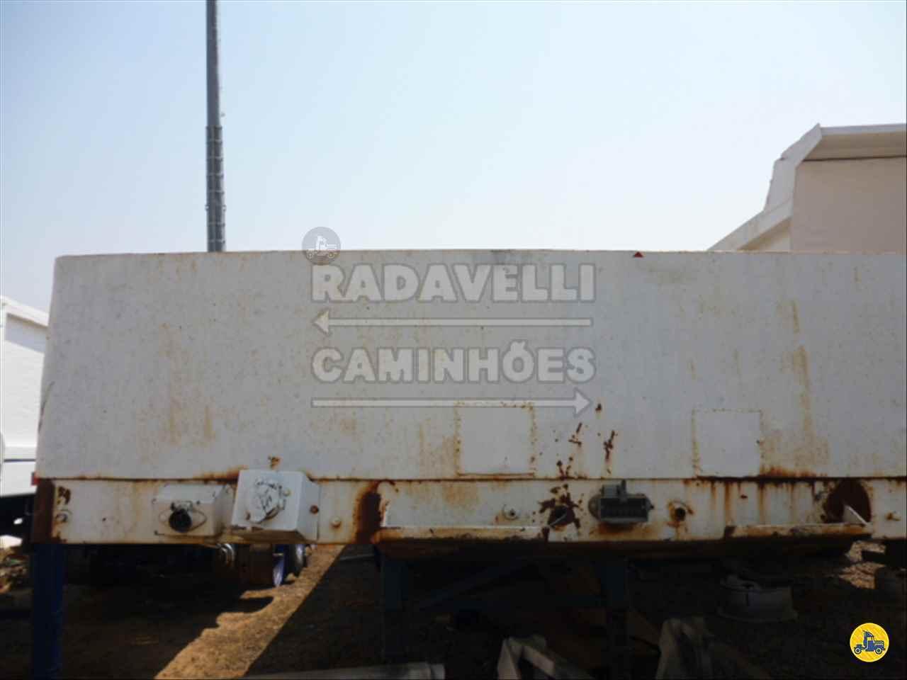 SEMI-REBOQUE CARGA SECA  1987/1987 Radavelli Caminhões