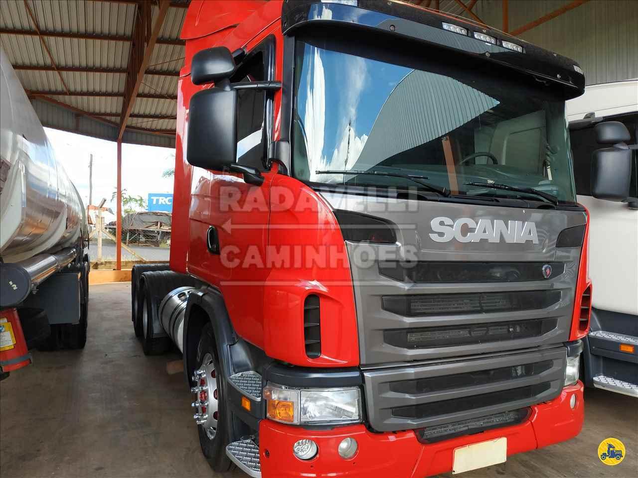 CAMINHAO SCANIA SCANIA 420 Cavalo Mecânico Traçado 6x4 Radavelli Caminhões MATAO SÃO PAULO SP