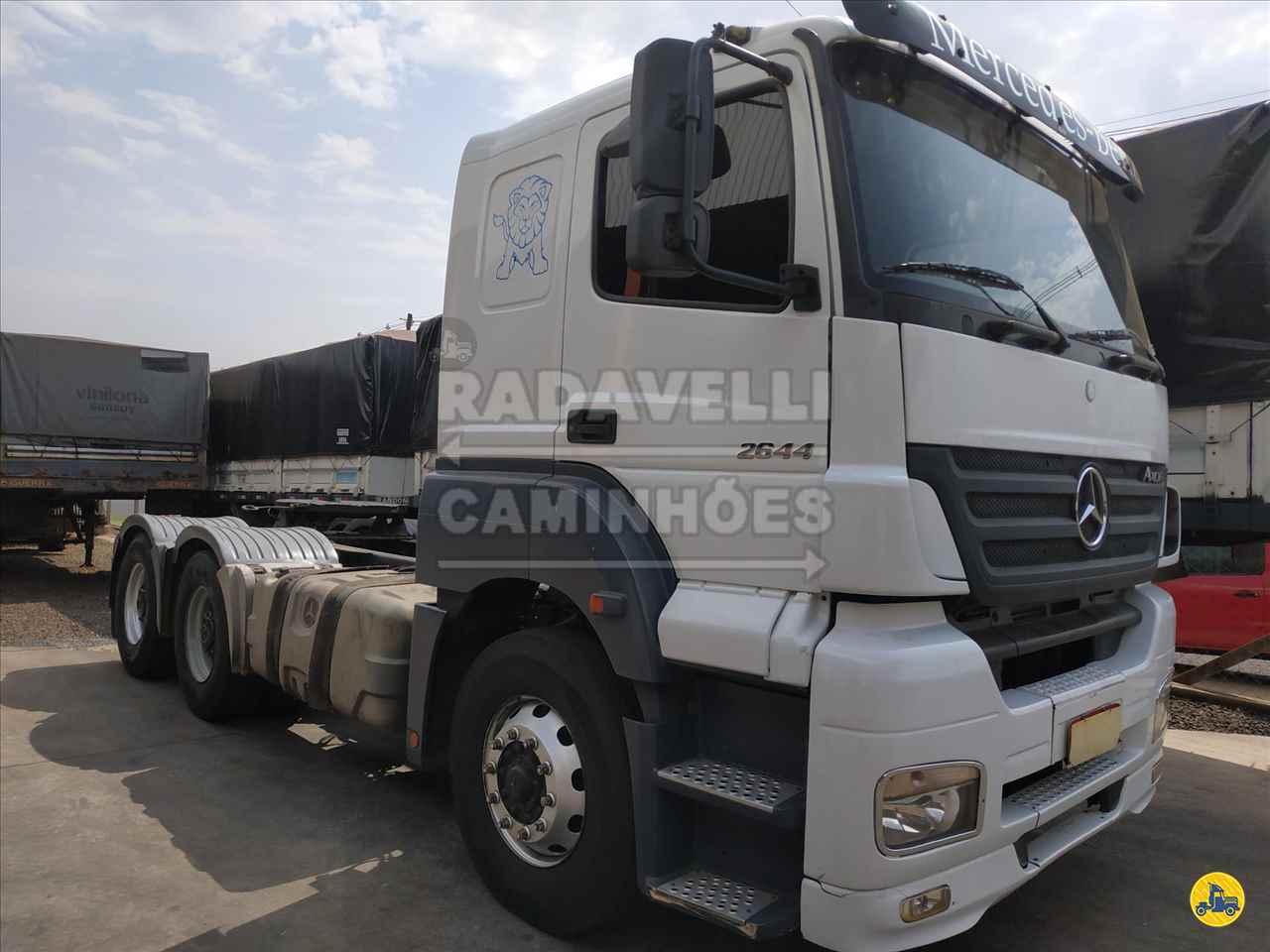 CAMINHAO MERCEDES-BENZ MB 2644 Cavalo Mecânico Traçado 6x4 Radavelli Caminhões MATAO SÃO PAULO SP