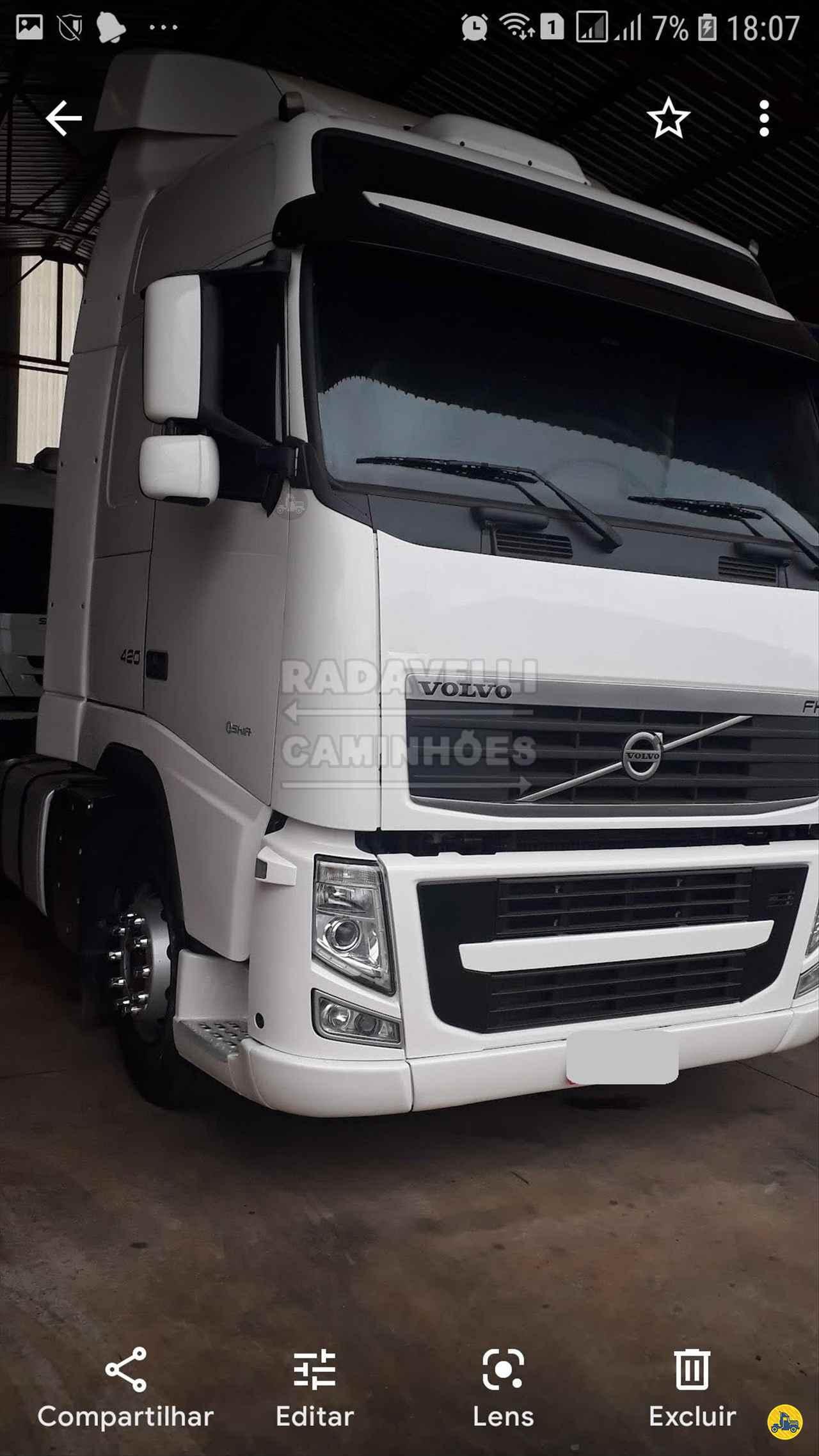 CAMINHAO VOLVO VOLVO FH 400 Cavalo Mecânico Truck 6x2 Radavelli Caminhões MATAO SÃO PAULO SP