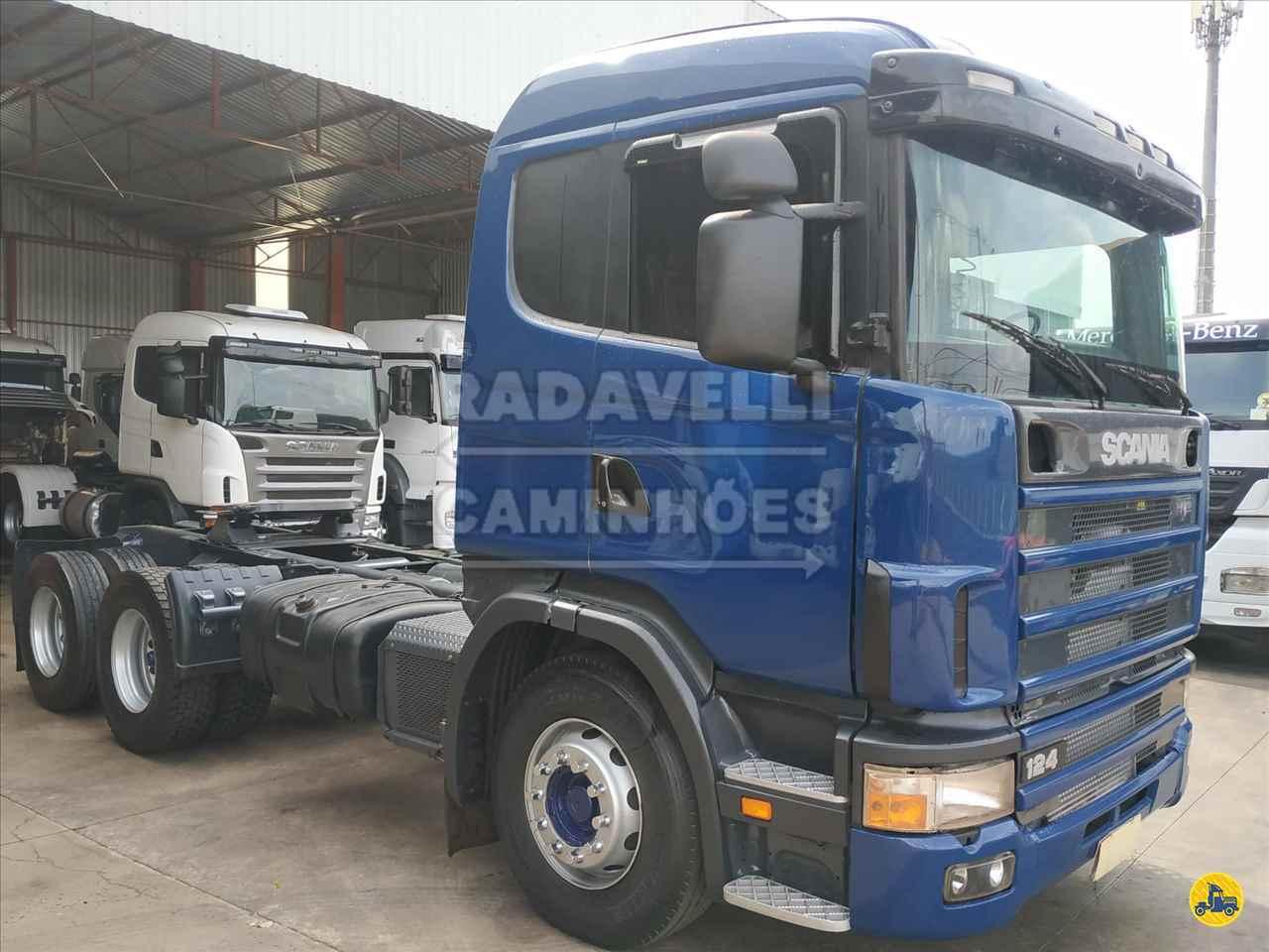 CAMINHAO SCANIA SCANIA 124 360 Cavalo Mecânico Truck 6x2 Radavelli Caminhões MATAO SÃO PAULO SP