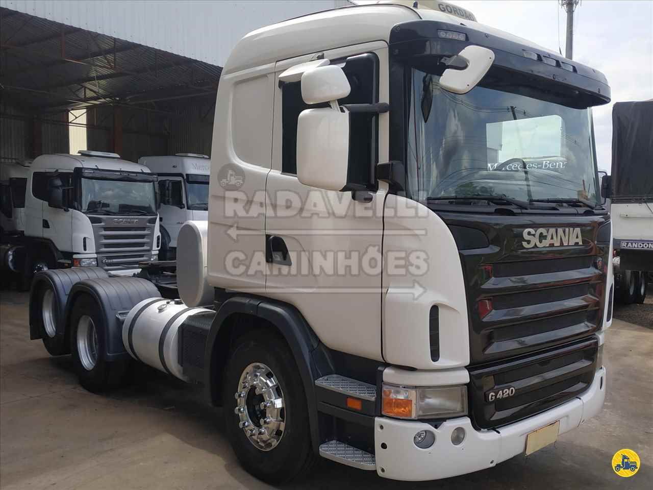 CAMINHAO SCANIA SCANIA 420 Cavalo Mecânico Truck 6x2 Radavelli Caminhões MATAO SÃO PAULO SP