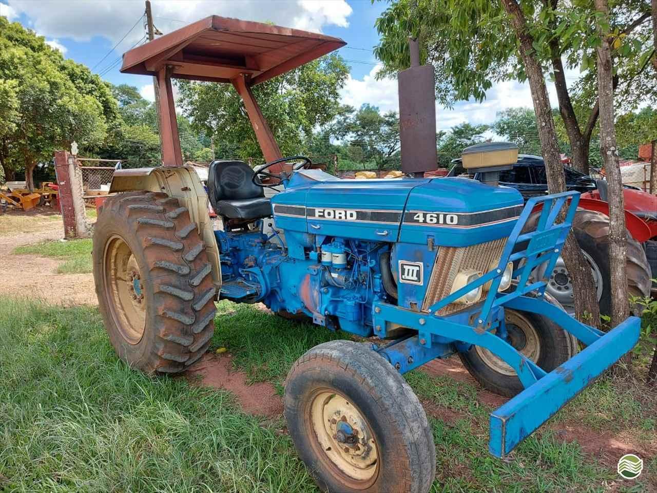 TRATOR FORD FORD 4610 Tração 4x2 Terra Santa Implementos Agrícolas BEBEDOURO SÃO PAULO SP