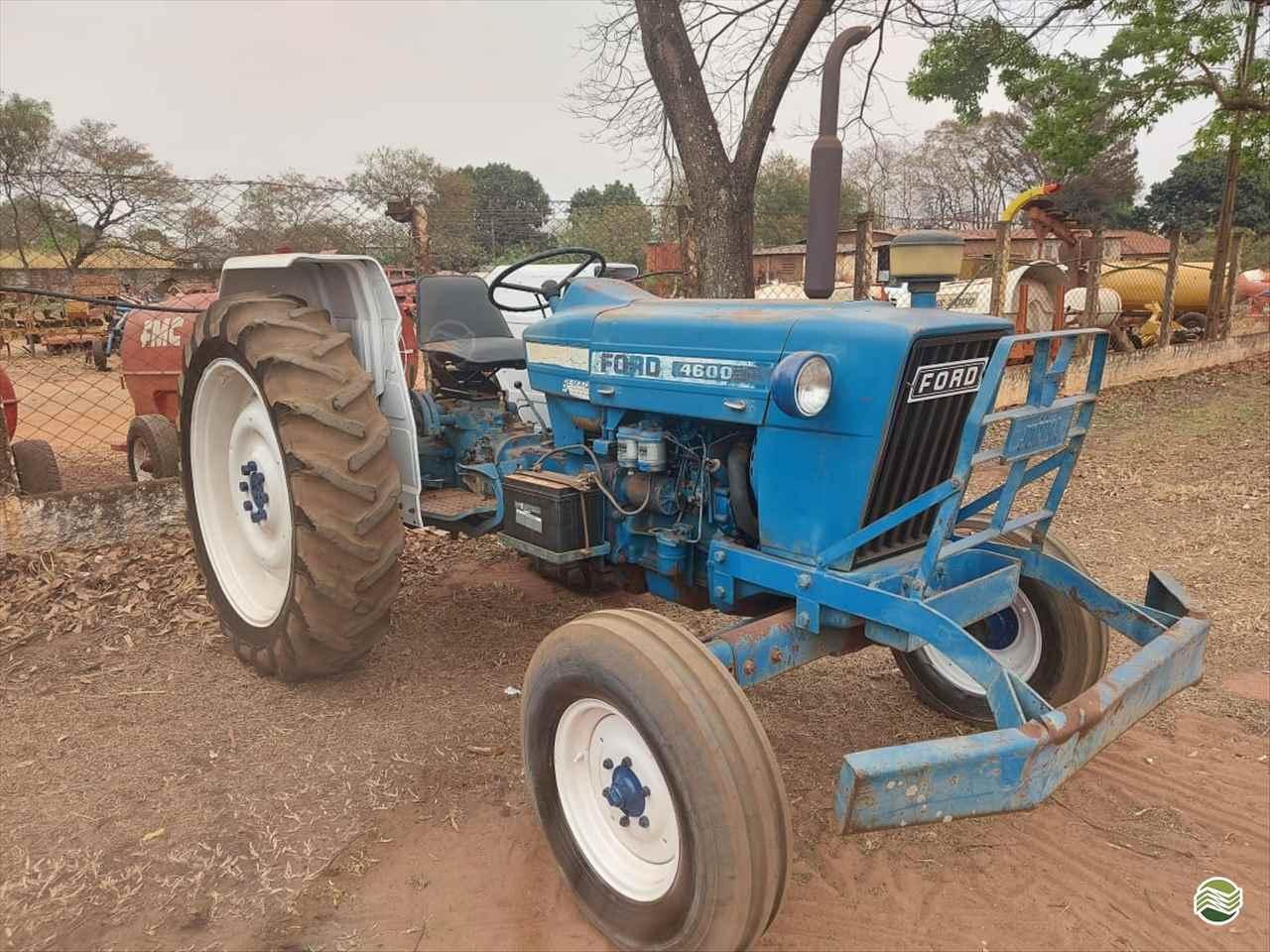 TRATOR FORD FORD 4600 Tração 4x2 Terra Santa Implementos Agrícolas BEBEDOURO SÃO PAULO SP