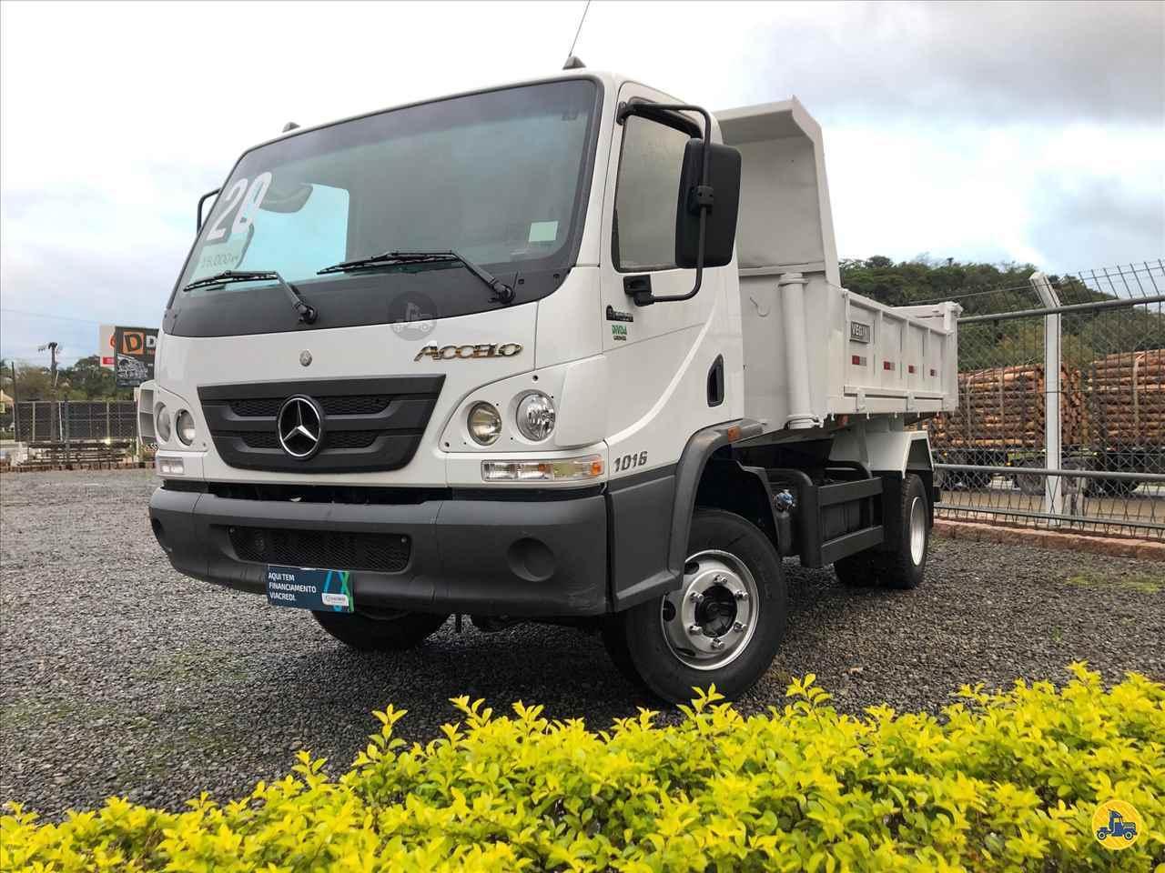 CAMINHAO MERCEDES-BENZ MB 1016 Caçamba Basculante 3/4 4x2 Divisa Caminhões INDAIAL SANTA CATARINA SC