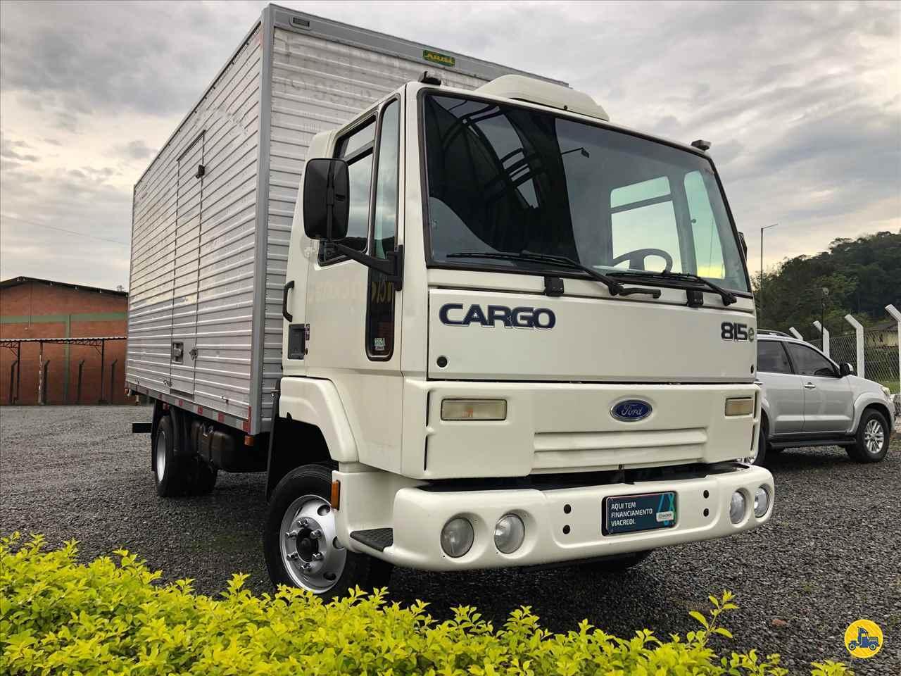 CAMINHAO FORD CARGO 815 Carga Seca 3/4 4x2 Divisa Caminhões INDAIAL SANTA CATARINA SC