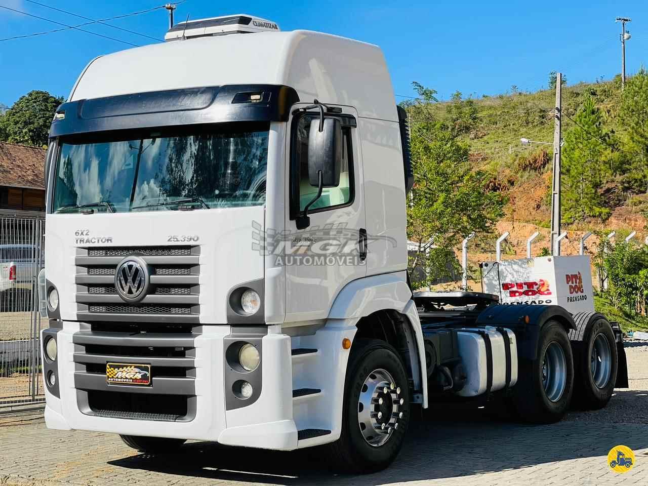 CAMINHAO VOLKSWAGEN VW 25390 Cavalo Mecânico Truck 6x2 MGK Automóveis IBIRAMA SANTA CATARINA SC