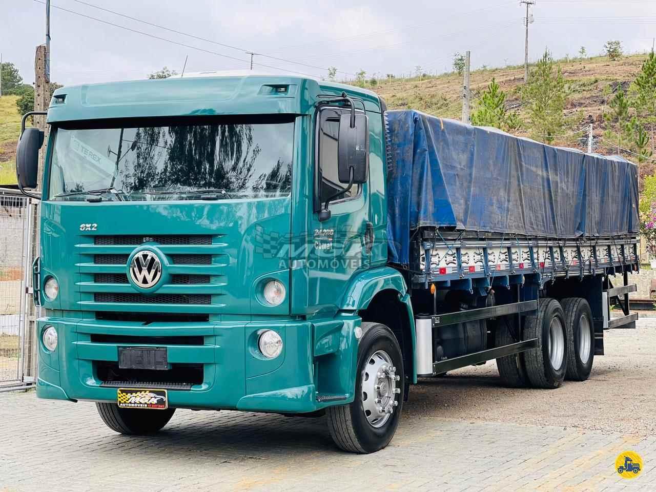 CAMINHAO VOLKSWAGEN VW 24280 Graneleiro Truck 6x2 MGK Automóveis IBIRAMA SANTA CATARINA SC