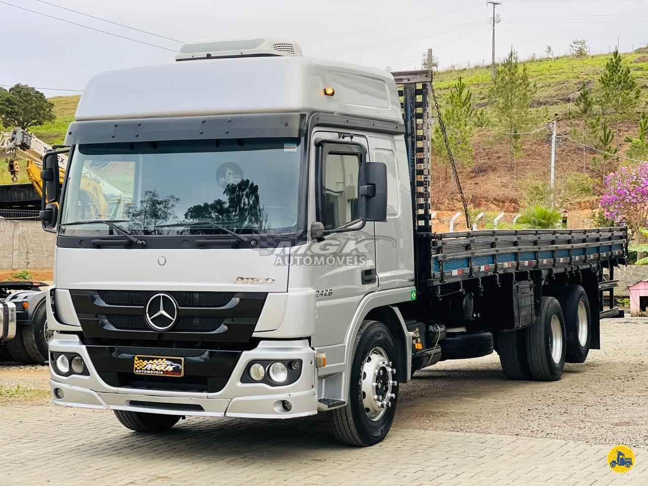 CAMINHAO MERCEDES-BENZ MB 2426 Carga Seca Truck 6x2 MGK Automóveis IBIRAMA SANTA CATARINA SC