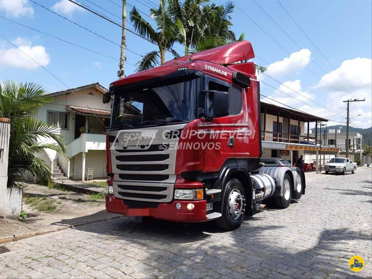CAMINHAO SCANIA SCANIA 440 Cavalo Mecânico Truck 6x2 Mevale - Scania ITAJAI SANTA CATARINA SC