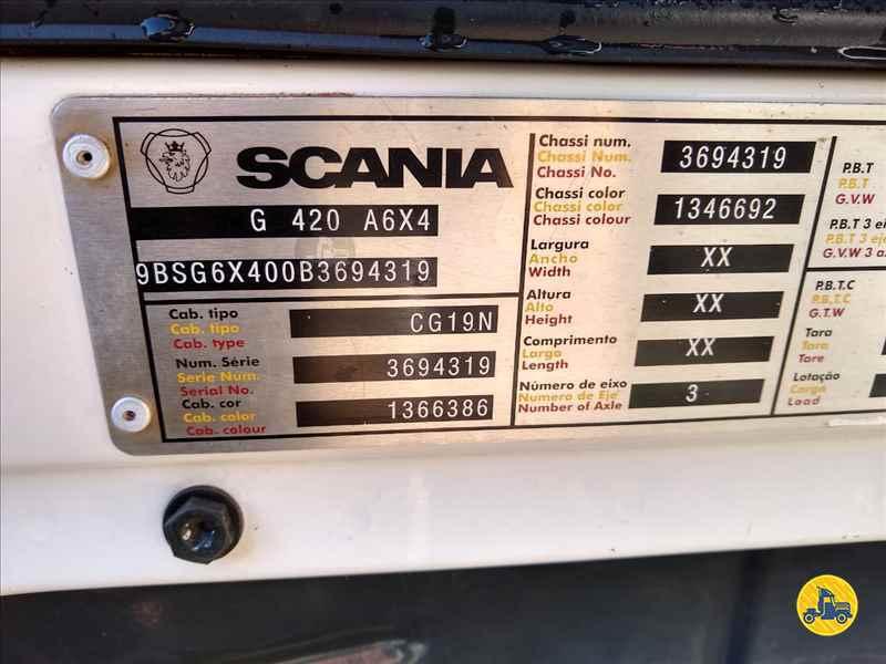 SCANIA SCANIA 420 732000km 2011/2011 Vinte-Vinte Caminhões
